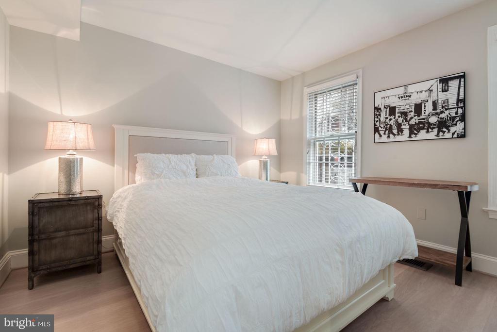 Bedroom #2 - New Premium Wide Plank Hardwoods! - 1610 BELMONT ST NW #D, WASHINGTON
