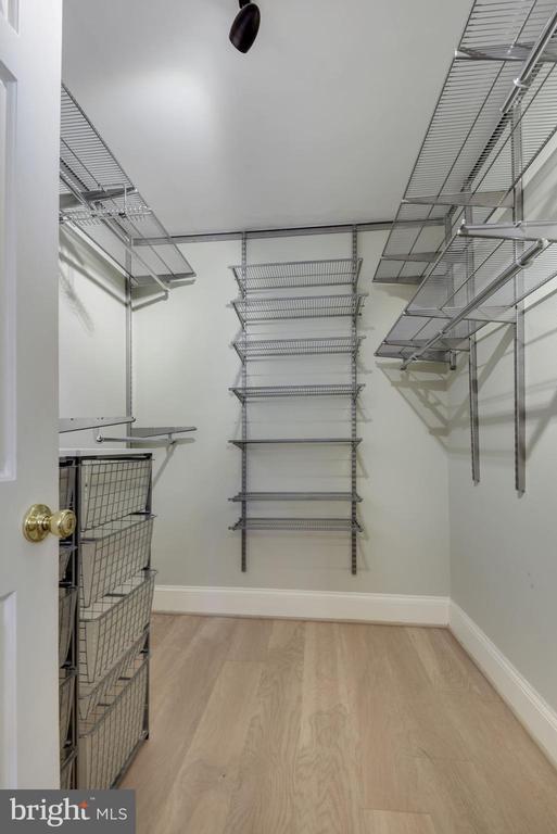 Primary Bedroom - Custom Walk-In Closet! - 1610 BELMONT ST NW #D, WASHINGTON
