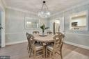 This Dining Rm Can Handle ANY Size Table You Want! - 1610 BELMONT ST NW #D, WASHINGTON