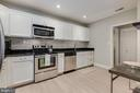 Gourmet Kitchen - On-Trend White Cabinetry! - 1610 BELMONT ST NW #D, WASHINGTON