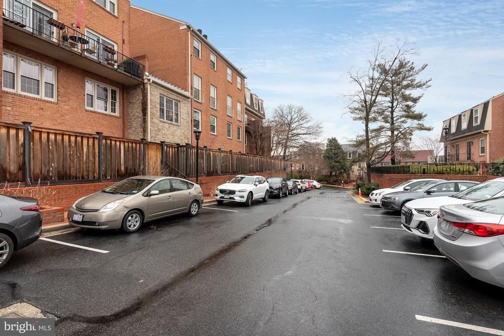 2 Parking Spaces! - 1610 BELMONT ST NW #D, WASHINGTON
