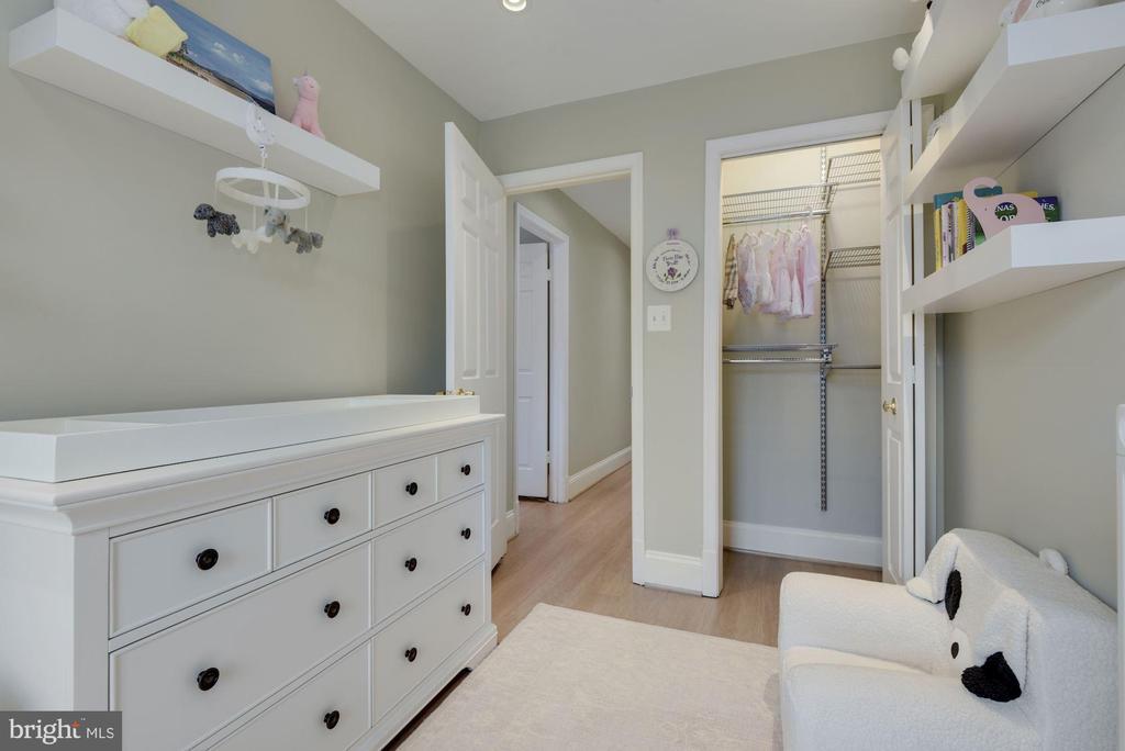 Bedroom #3 - New Premium Wide Plank Hardwoods! - 1610 BELMONT ST NW #D, WASHINGTON
