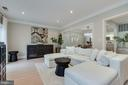 Living Room - VERY Spacious & Generously Sized! - 1610 BELMONT ST NW #D, WASHINGTON