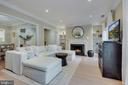 Living Room - New Premium Wide Plank Hardwoods! - 1610 BELMONT ST NW #D, WASHINGTON