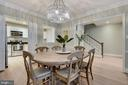 Dining Room - Truly a Separate Dining Room! - 1610 BELMONT ST NW #D, WASHINGTON