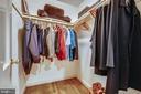 Primary Closets - 1515 LIVE OAK DR, SILVER SPRING