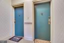 Main Door To Flat - 3052 S ABINGDON ST #A2, ARLINGTON