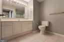 Primary bathroom-vanity/cabinets - 19365 CYPRESS RIDGE TER #1108, LEESBURG