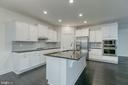 Gourmet Kitchen with built in microwave and oven - 103 OLD OAKS CT, STAFFORD