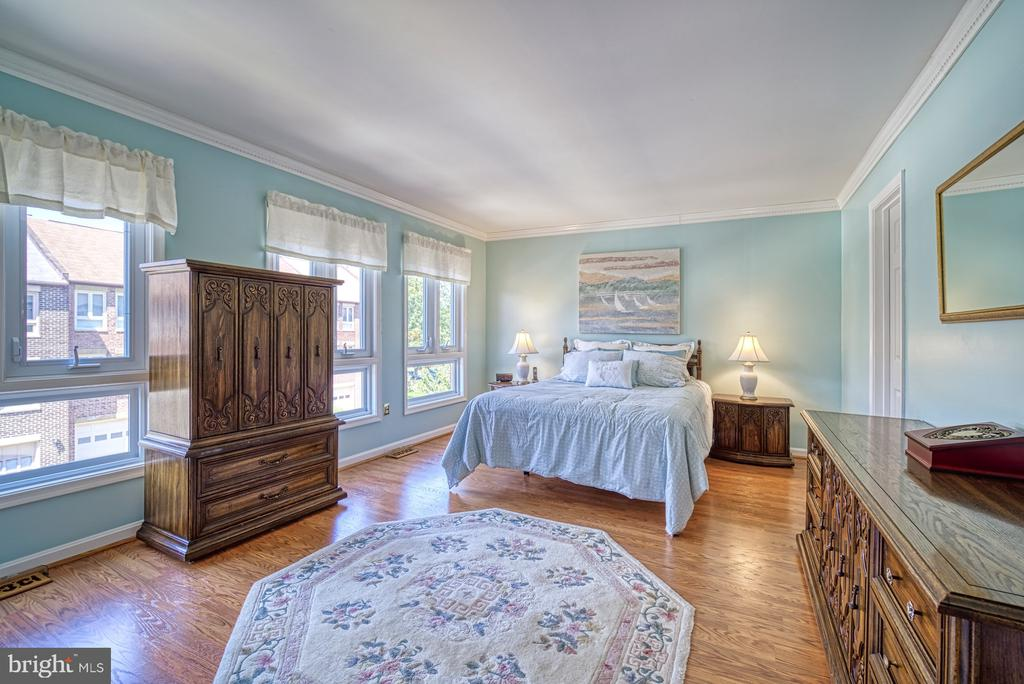 Light-filled Primary Bedroom - 10161 TURNBERRY PL, OAKTON