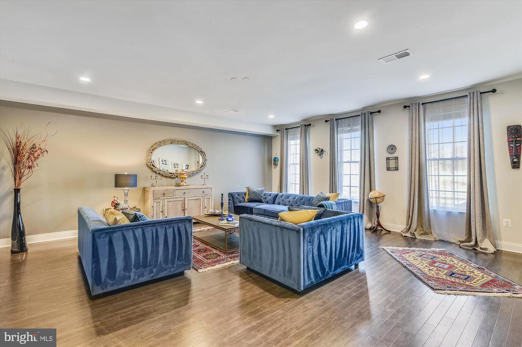 Entry level living room/bedroom - 43111 CLARENDON SQ, ASHBURN