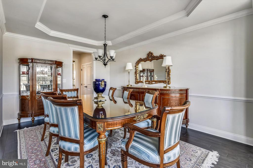 Formal dining room - 43111 CLARENDON SQ, ASHBURN