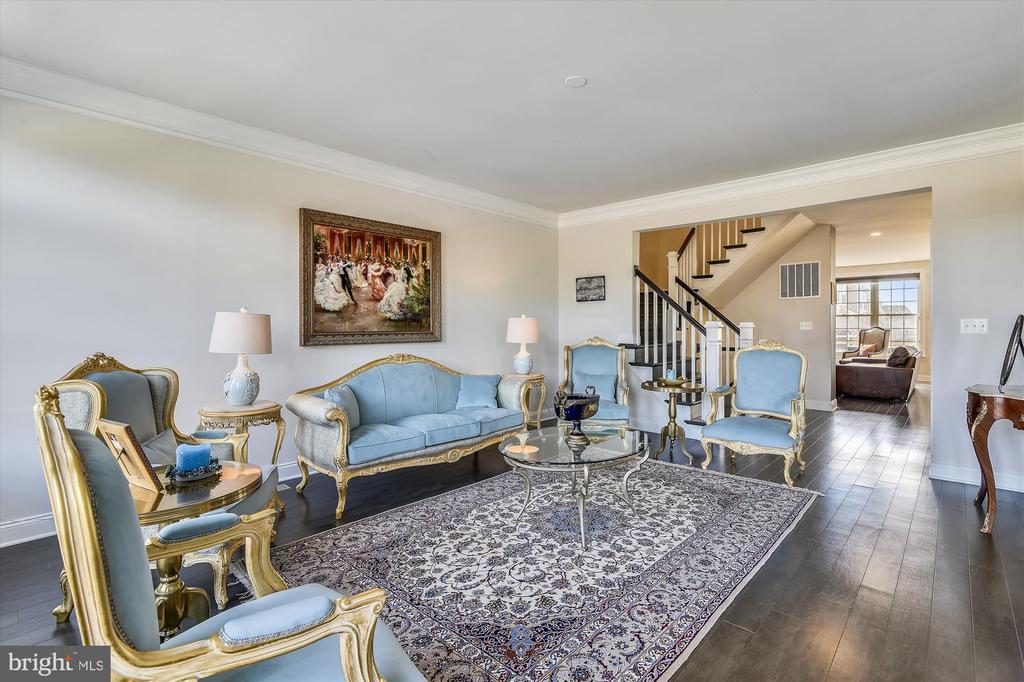 Living Room - 43111 CLARENDON SQ, ASHBURN