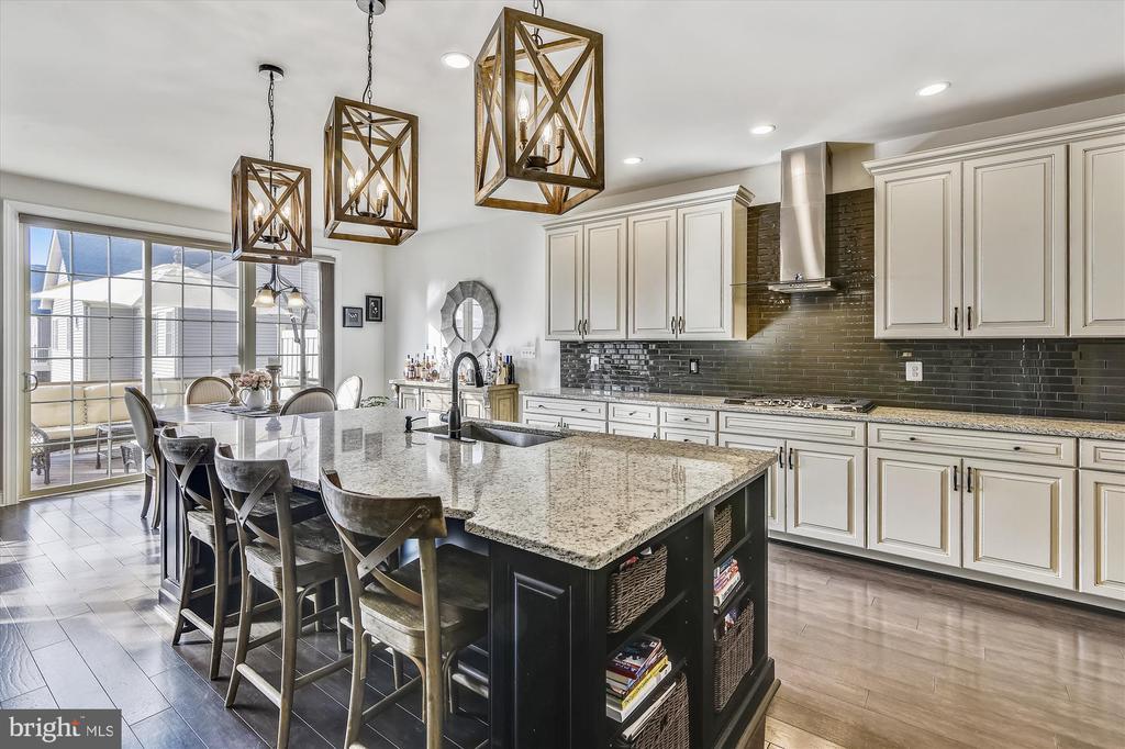 Stunning gourmet kitchen - 43111 CLARENDON SQ, ASHBURN