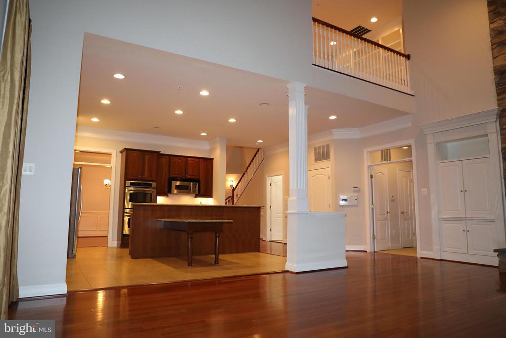 Family Room/Kitchen area - 3705 GLEN EAGLES DR, SILVER SPRING