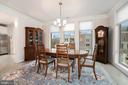 Dining Rm - HUGE - Host ALL Your Family & Friends! - 6107 FAIRVIEW FARM DR #403, ALEXANDRIA