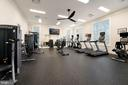 Fitness Center! - There is a Also a Yoga Room! - 6107 FAIRVIEW FARM DR #403, ALEXANDRIA