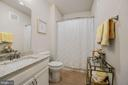 Full Bathroom #2 - Spacious & Bright! - 6107 FAIRVIEW FARM DR #403, ALEXANDRIA