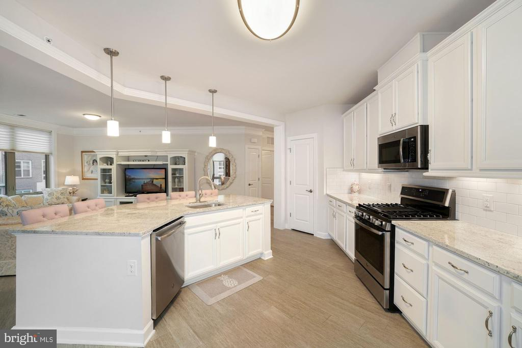 Kitchen - Open, Light, Bright, & Spacious! - 6107 FAIRVIEW FARM DR #403, ALEXANDRIA