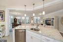 Kitchen - SS Apps, Granite, & Pendant Lighting! - 6107 FAIRVIEW FARM DR #403, ALEXANDRIA