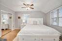 Primary Bedroom - Ceiling Fan & Overhead Lighting - 3833 JAY AVE, ALEXANDRIA