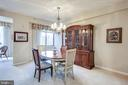 No need to downsize dining room - 3100 N LEISURE WORLD BLVD #203, SILVER SPRING