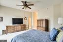 Generous size owners bedroom - 3100 N LEISURE WORLD BLVD #203, SILVER SPRING
