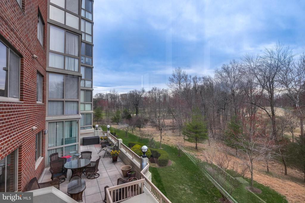 View from Enclosed Sunroom - 3100 N LEISURE WORLD BLVD #203, SILVER SPRING