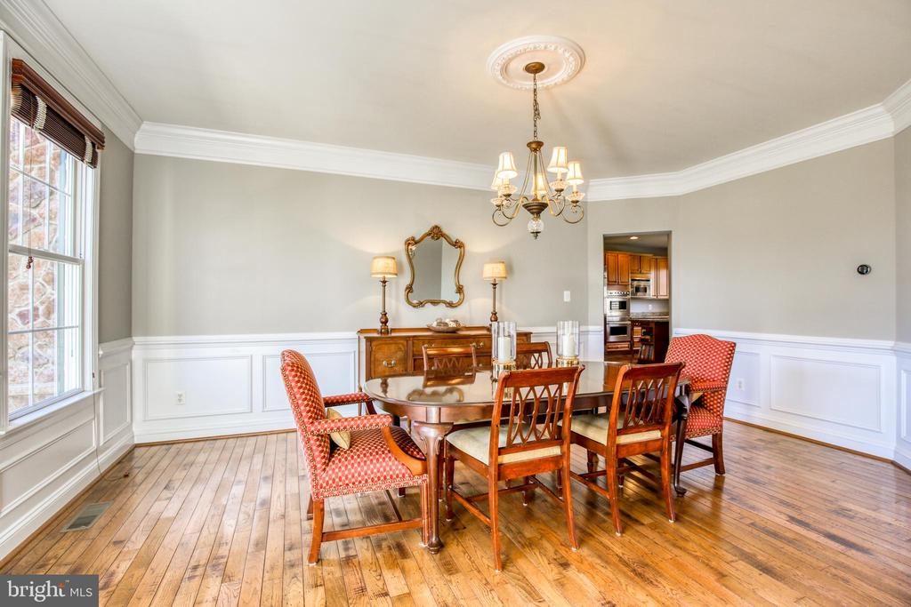 Formal dining room - 43094 ROCKY RIDGE CT, LEESBURG