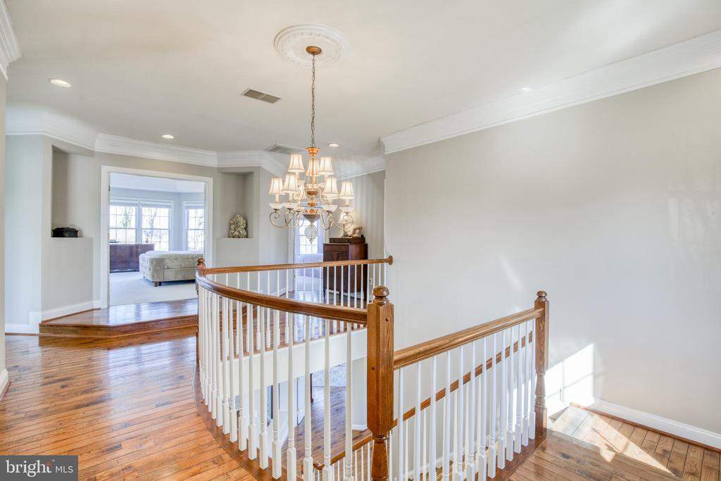 Impressive entrance to master bedroom - 43094 ROCKY RIDGE CT, LEESBURG