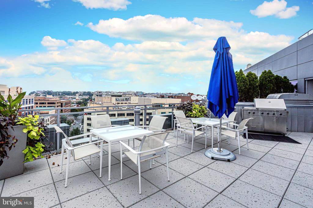 ROOFTOP GRILLING AREA - 1177 22ND ST NW #8G, WASHINGTON