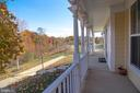 Complete privacy relaxing on your front porch! - 1110 HEARTHSTONE DR, FREDERICKSBURG
