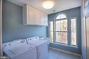 Bdrm level laundry with plenty of space! - 1110 HEARTHSTONE DR, FREDERICKSBURG
