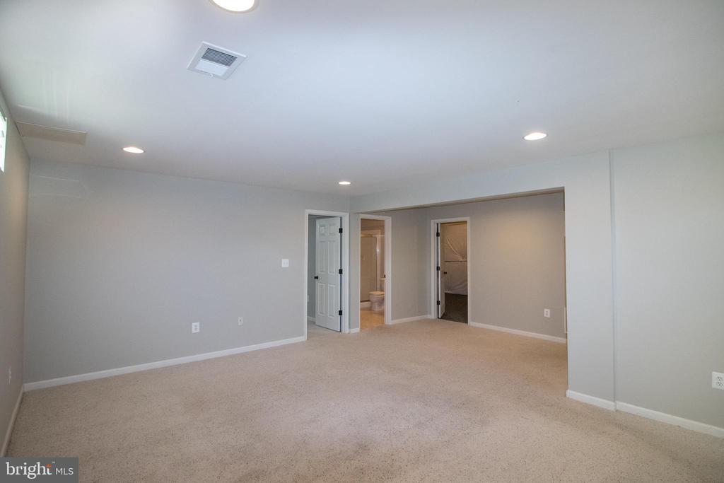 Fully finished basement - 1110 HEARTHSTONE DR, FREDERICKSBURG
