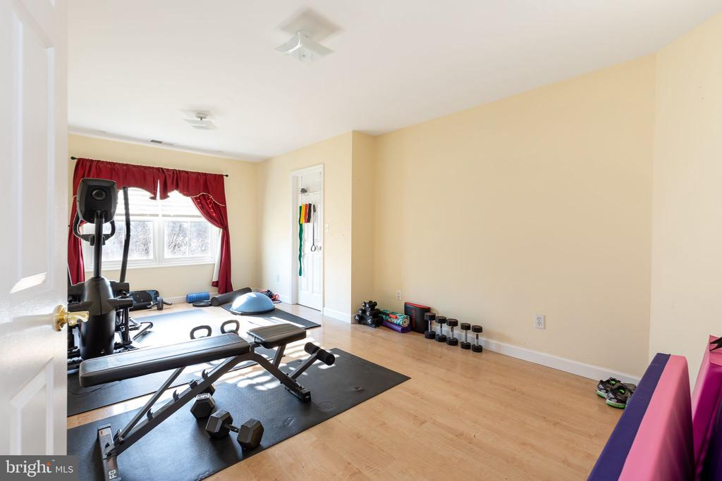 Exercise room ( Room # 5 upper level) - 9941 CORSICA ST, VIENNA