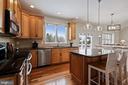 Lovely New Light fixtures enhance the Kitchen - 20004 HAZELTINE PL, ASHBURN