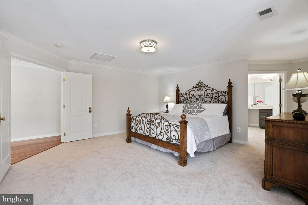 Double Door Entry enhances Master Bedroom - 20004 HAZELTINE PL, ASHBURN