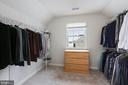 Generous Sized Walk-in Closet in MBR - 20004 HAZELTINE PL, ASHBURN