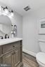 Updated main level Half Bath - 2071 WETHERSFIELD CT, RESTON