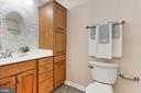 Beautifully updated ensuite Bathroom - 2071 WETHERSFIELD CT, RESTON