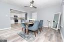 Family room/Dining - 219 W MEADOWLAND LN, STERLING