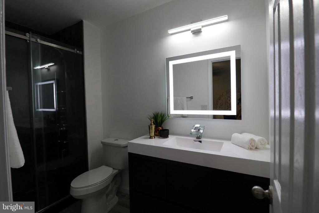Wow! Luxurious Master bathroom - 219 W MEADOWLAND LN, STERLING