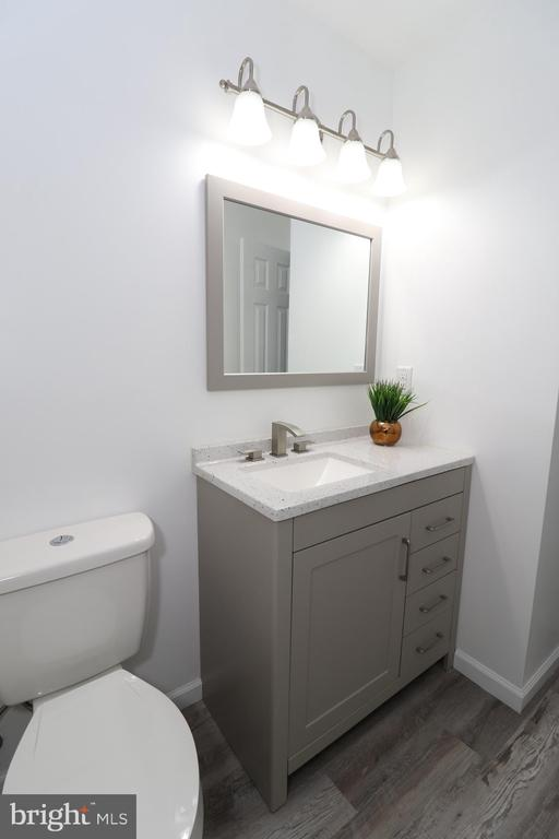 Updated full bathroom - 219 W MEADOWLAND LN, STERLING