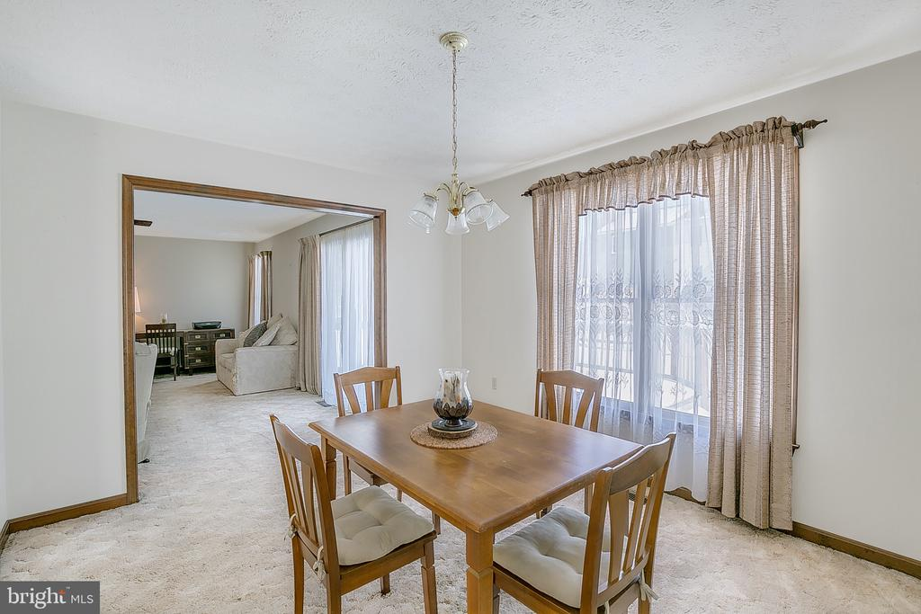 Dining to living room - 122 SUNNY WAY, THURMONT