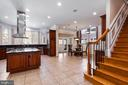 Kitchen/Back Staircase - 6500 BRIARCROFT ST, CLIFTON