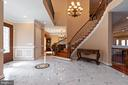 Marble Foyer - 6500 BRIARCROFT ST, CLIFTON