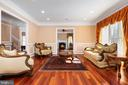 Living Room - 6500 BRIARCROFT ST, CLIFTON