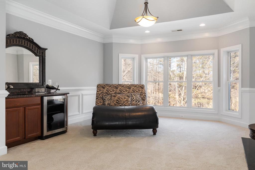 Master Sitting Area - 6500 BRIARCROFT ST, CLIFTON