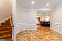 Lower Level Staircase - 6500 BRIARCROFT ST, CLIFTON