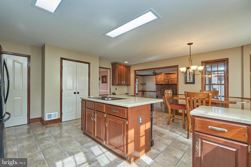 Kitchen Breakfast Area - 12693 CROSSBOW DR, MANASSAS